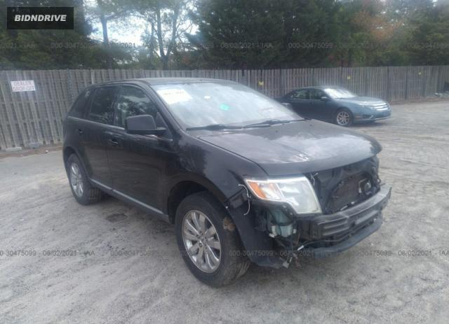 Lot #1709404509 2008 FORD EDGE LIMITED salvage car