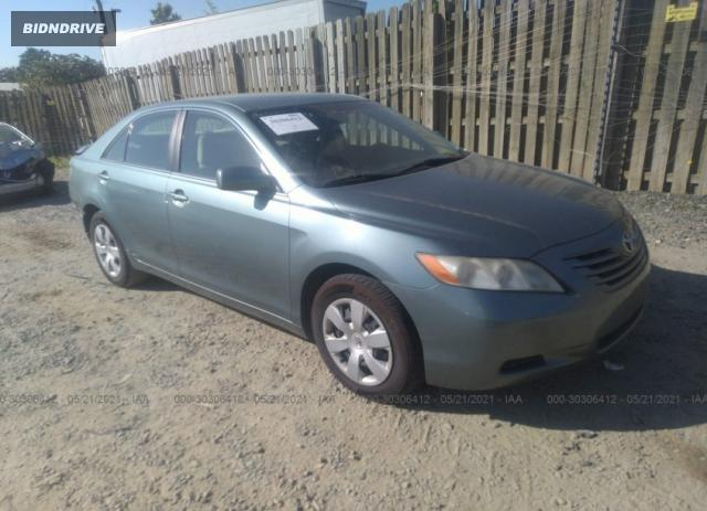Lot #1709404716 2009 TOYOTA CAMRY salvage car