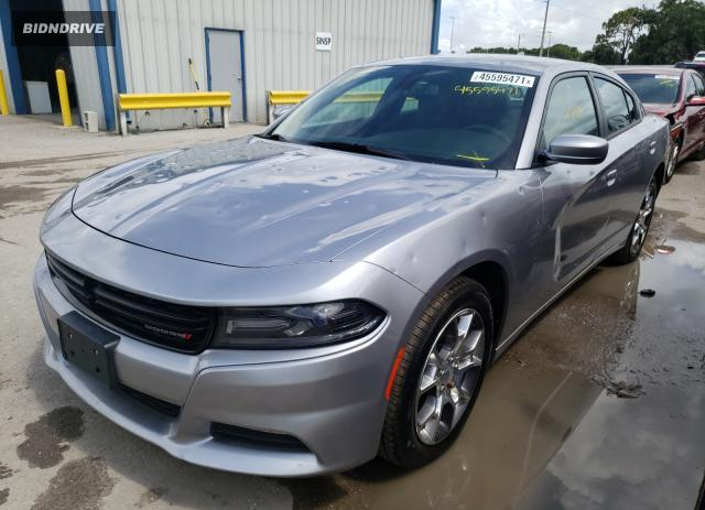 Lot #1710032596 2017 DODGE CHARGER SX salvage car