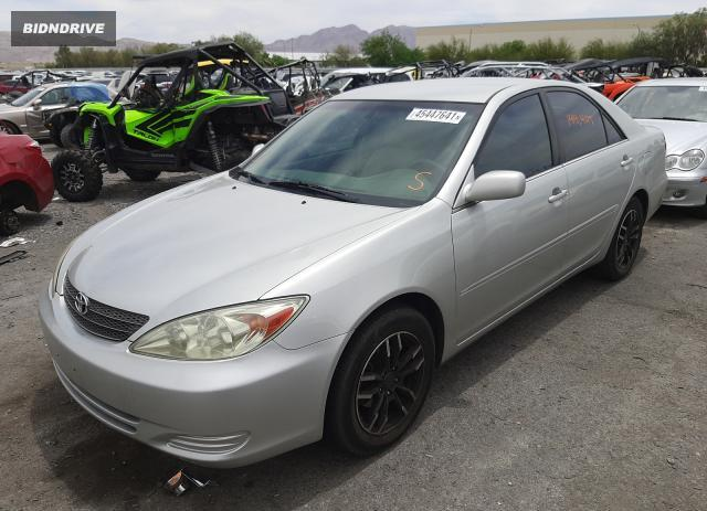 Lot #1711496126 2002 TOYOTA CAMRY LE salvage car