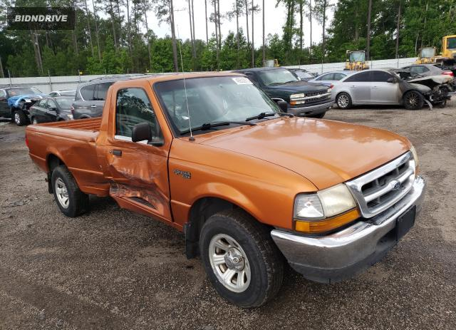 Lot #1711850863 2000 FORD RANGER salvage car