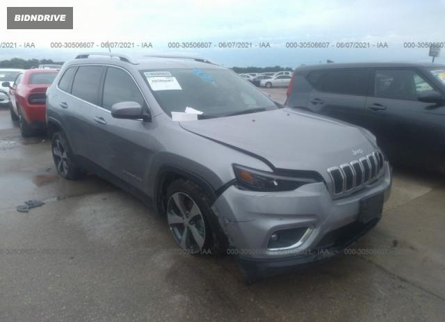 Lot #1712276549 2020 JEEP CHEROKEE LIMITED salvage car