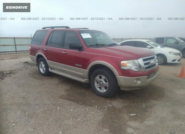 Lot #1712298829 2007 FORD EXPEDITION EDDIE BAUER salvage car