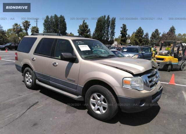 Lot #1714213366 2007 FORD EXPEDITION XLT salvage car