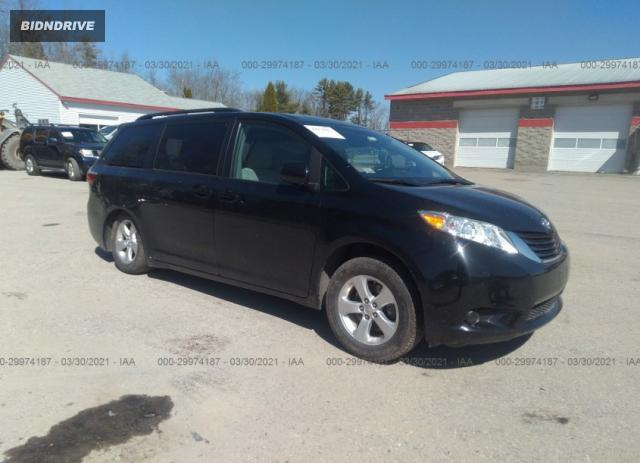 Lot #1714723563 2017 TOYOTA SIENNA LE salvage car