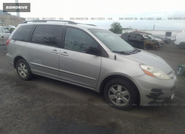 Lot #1715236069 2008 TOYOTA SIENNA CE/LE salvage car