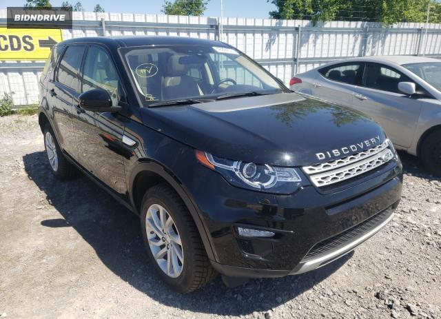 Lot #1715889786 2018 LAND ROVER DISCOVERY salvage car