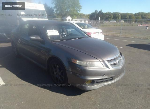 Lot #1716130086 2008 ACURA TL TYPE-S salvage car