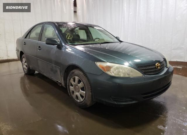 Lot #1720090643 2002 TOYOTA CAMRY LE salvage car