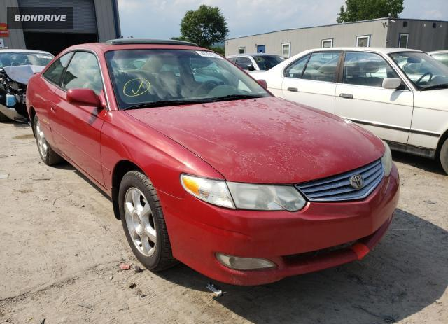 Lot #1723326236 2002 TOYOTA CAMRY SOLA salvage car