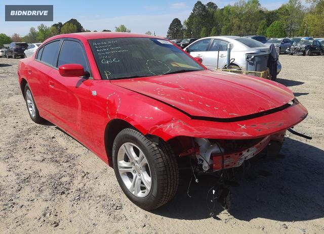 Lot #1723849576 2020 DODGE CHARGER SX salvage car