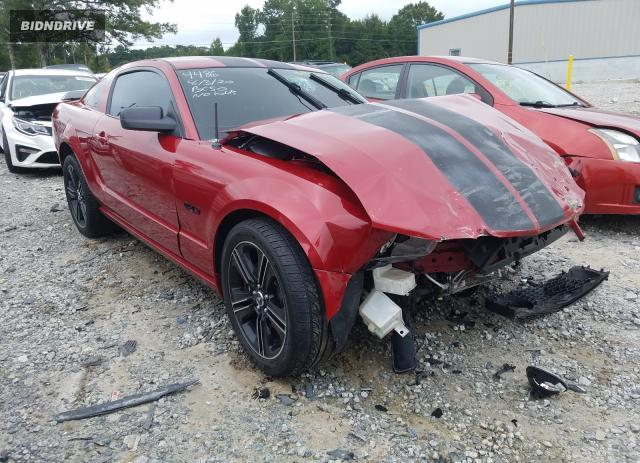 Lot #1726652513 2008 FORD MUSTANG GT salvage car