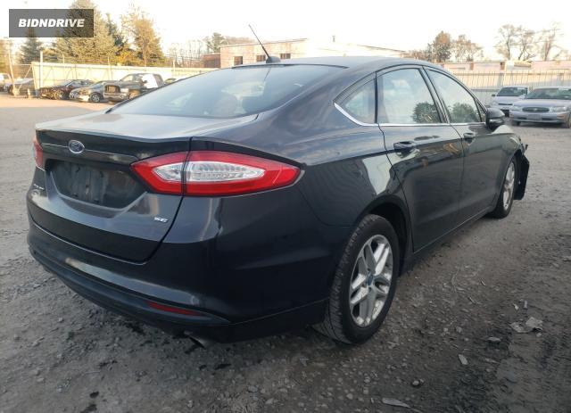 Lot #1727771673 2013 FORD FUSION SE salvage car