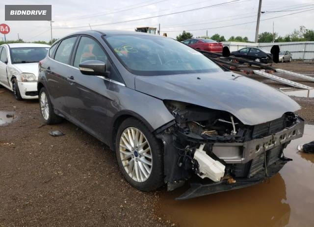 Lot #1727776683 2012 FORD FOCUS SEL salvage car