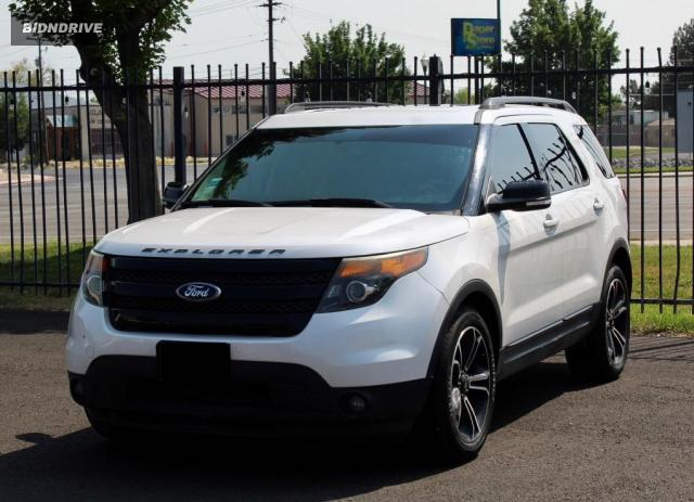 Lot #1729318406 2015 FORD EXPLORER S salvage car