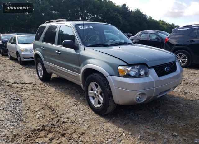 Lot #1729329319 2007 FORD ESCAPE HEV salvage car