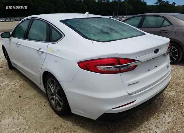 Lot #1729344399 2019 FORD FUSION SEL salvage car