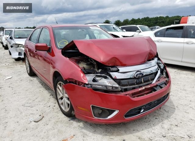 Lot #1729364386 2010 FORD FUSION SEL salvage car