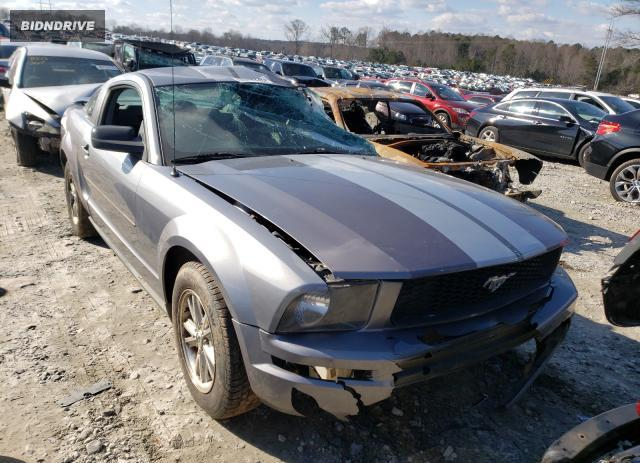 Lot #1730841586 2007 FORD MUSTANG salvage car