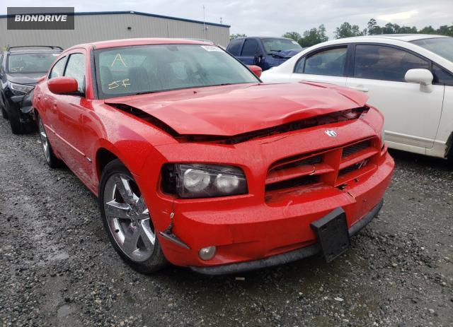 Lot #1730851326 2010 DODGE CHARGER R/ salvage car