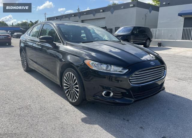 Lot #1731310329 2017 FORD FUSION SE salvage car