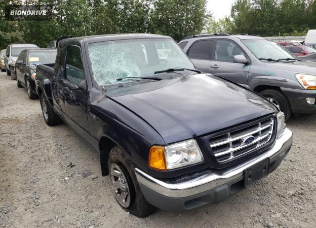 Lot #1731417486 2002 FORD RANGER SUP salvage car