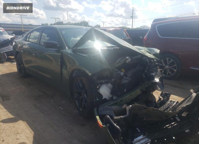 Lot #1731422809 2019 DODGE CHARGER SX salvage car