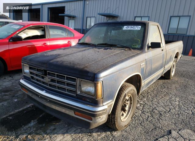 Lot #1731867329 1988 CHEVROLET S TRUCK S1 salvage car