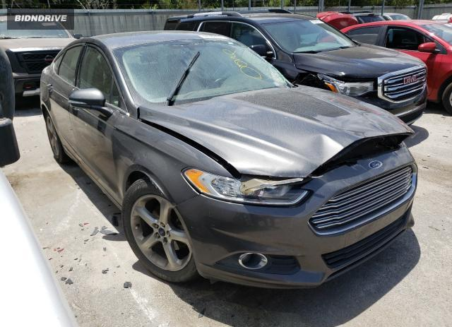 Lot #1731993343 2015 FORD FUSION SE salvage car