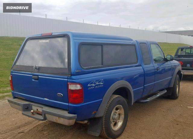 Lot #1733090866 2001 FORD RANGER SUP salvage car