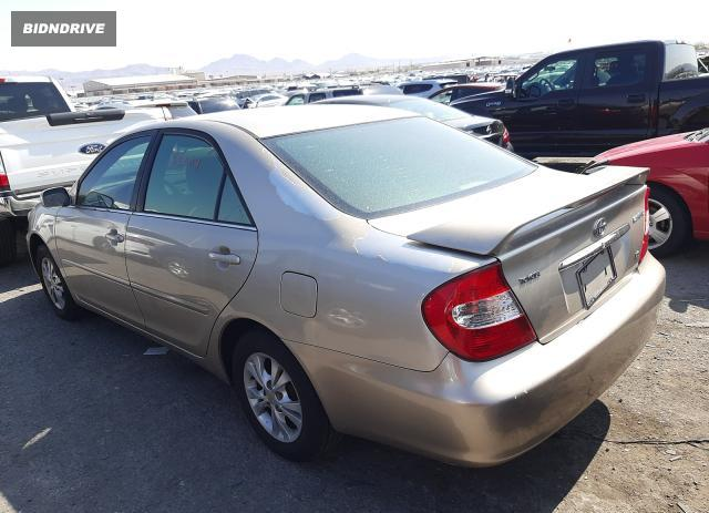 Lot #1733132243 2004 TOYOTA CAMRY LE salvage car