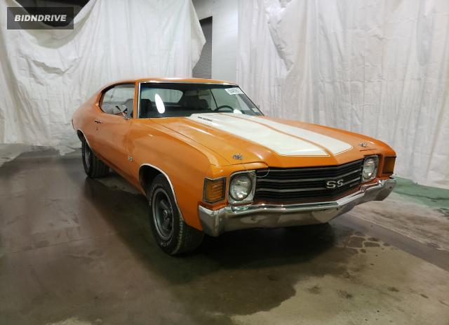 Lot #1733931513 1972 CHEVROLET CHEVELL salvage car