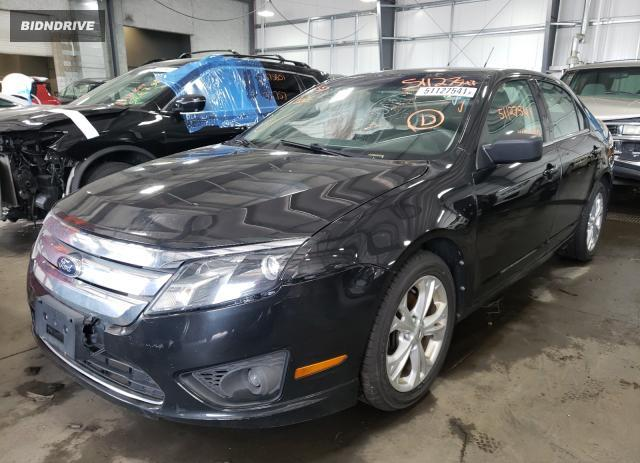 Lot #1734070456 2012 FORD FUSION SE salvage car