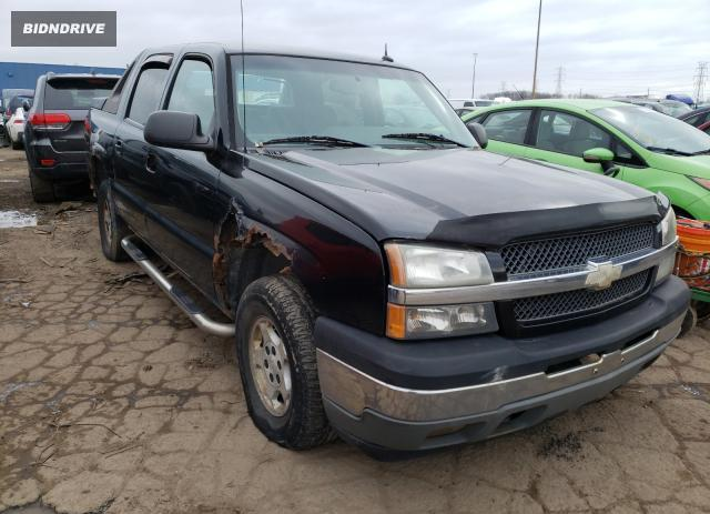 Lot #1753296423 2005 CHEVROLET AVALANCHE salvage car
