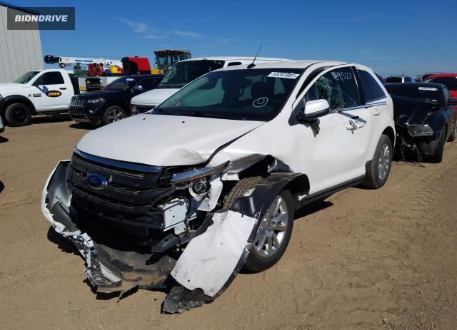 Lot #1759920193 2014 FORD EDGE LIMIT salvage car