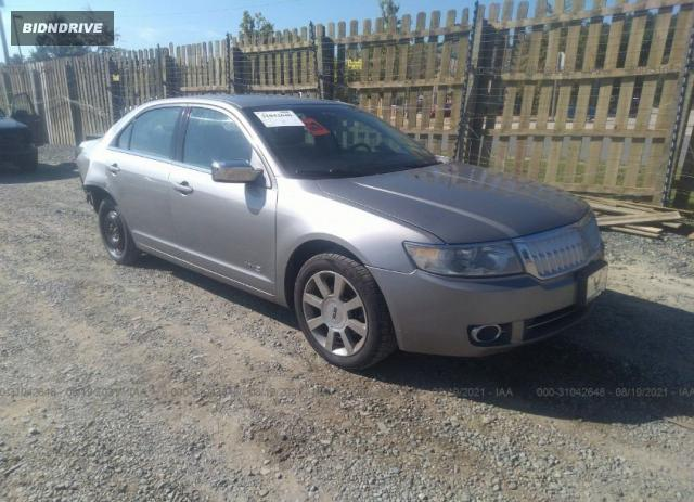 Lot #1761472746 2008 LINCOLN MKZ salvage car
