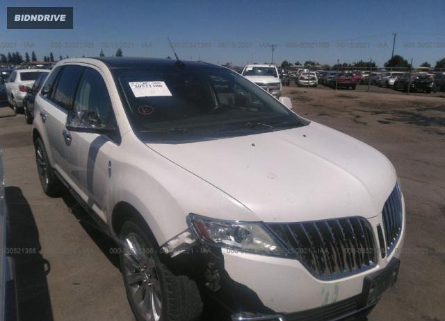Lot #1761473713 2011 LINCOLN MKX salvage car
