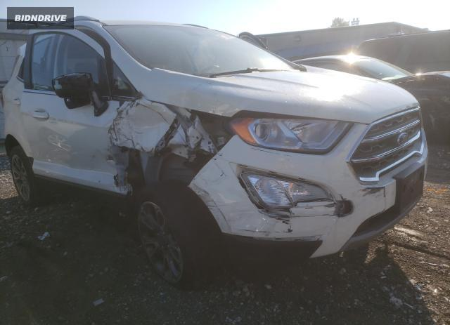 Lot #1763386623 2020 FORD ECOSPORT T salvage car