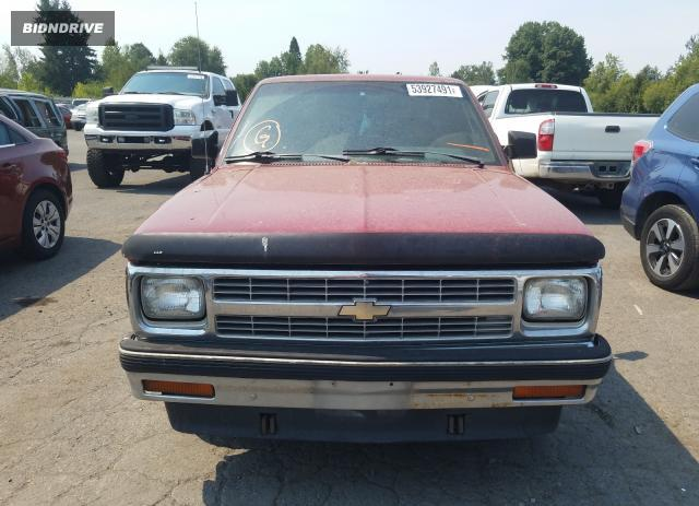 Lot #1769098709 1993 CHEVROLET S TRUCK S1 salvage car