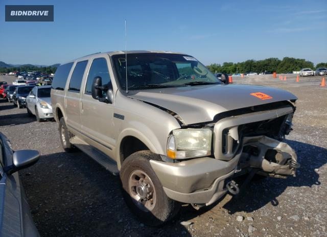 Lot #1772878049 2004 FORD EXCURSION salvage car