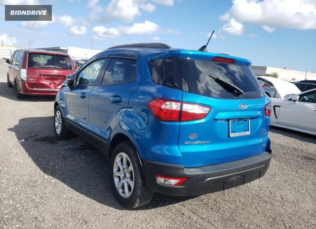 Lot #1774129323 2020 FORD ECOSPORT S salvage car
