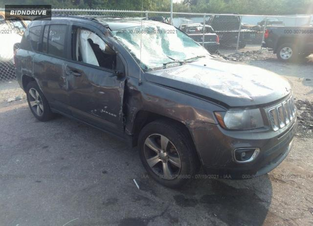 Lot #1775945436 2016 JEEP COMPASS HIGH ALTITUDE EDITION salvage car