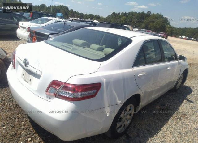 Lot #1776427429 2010 TOYOTA CAMRY salvage car