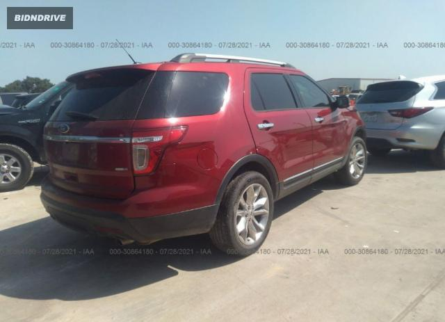 Lot #1776439353 2015 FORD EXPLORER LIMITED salvage car
